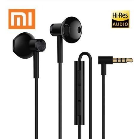 Fone De Ouvido Microfone Xiaomi Ori Dual Driver Plug P2 Em L