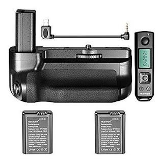 Grip Para A6500 Sony Genérico Con Dos Baterías Extras