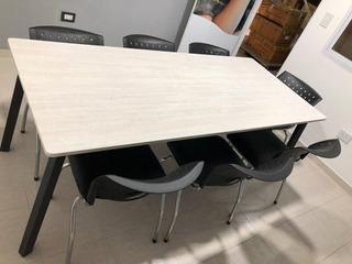 Mesa De Reuniones Para Oficinas Y Quinchos (8 Personas)