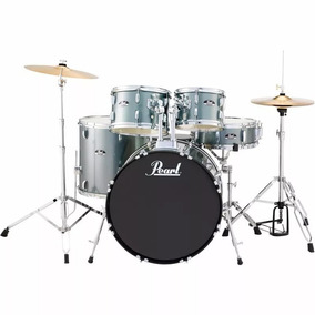 Bateria Acustica Pearl Roadshow Rs505 C706 5pc Charcoal Meta