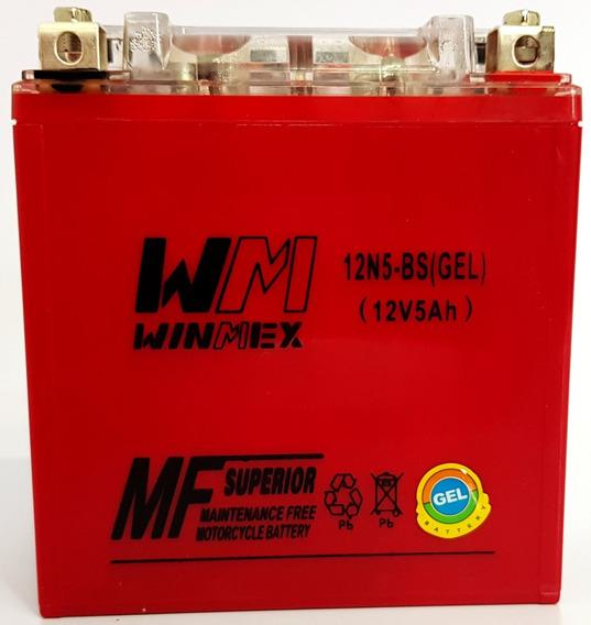 Batería Gel Para Moto 12n5-bs