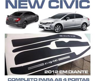 Soleiras Super Protetoras New Civic Para As 4 Portas
