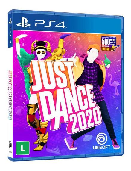 Just Dance 2020 Ps4 Mídia Física Lacrada + Canção Frozen Ii
