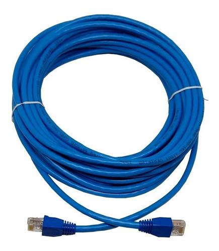 Imagen 1 de 6 de Cable Ethernet De 5 Metros Cat 6 Real Gigabit