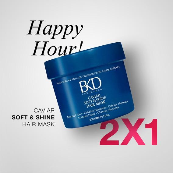 2x1 Bkd Máscara Capilar Daily - Soft & Shine X 200ml