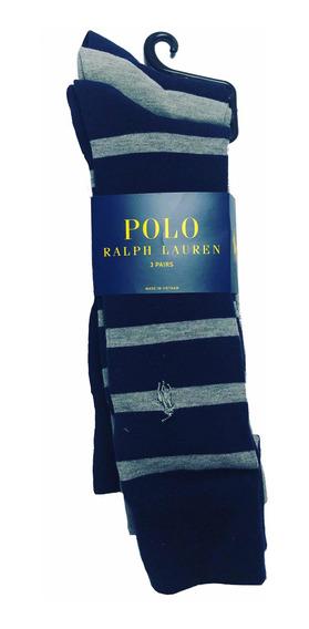 Medias Hombre Paquete X 3 Pares Polo Ralph Lauren Zapato