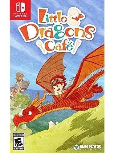 Little Dragons Cafe Switch Mídia Física Lacrado Envio Rápido