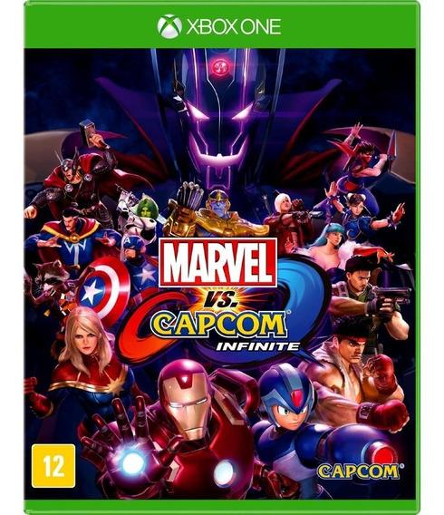 Marvel Vs. Capcom Infinite, Xbox One, Novo, Mídia Física.