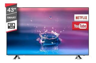 Smart Tv 43 Pulgadas Recco 4k Led Ultra Hd Netflix Wifi