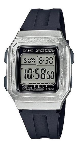 Relógio De Pulso Masculino Casio Digital F-201wam-7avdf