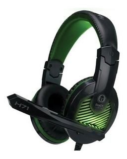 Auriculares Gamer Bkt H71 Micrófono Pc Ps4 Xbone One Luz Led