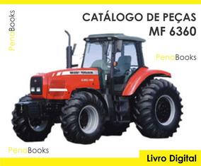 Catálogo Peças Trator Massey Ferguson 6360