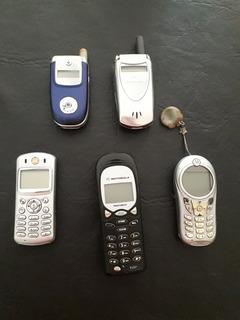 Lote Motorola + Baterias + Cargadores + Accesorios