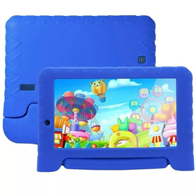 Tablet Multilaser Kid Pad Plus Nb278 Azul 7 Pol Nota Fiscal