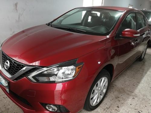 Nissan Sentra Advance 2017 Rojo