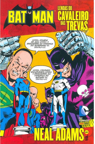 Batman Lendas Do Cavaleiro Das Trevas Neal Adams 1 Dc Comics
