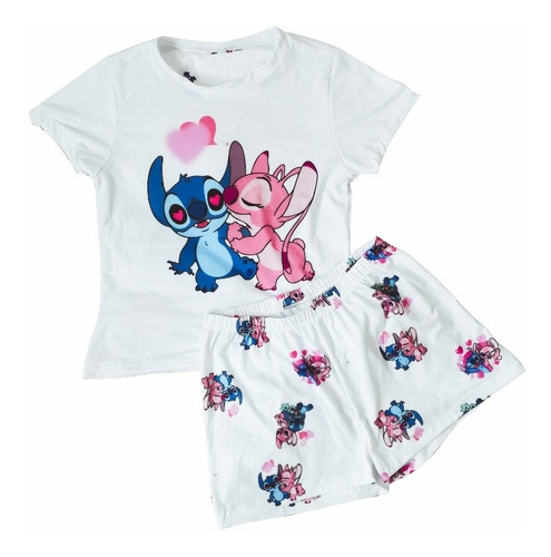 Pijama Stitch Enamorado