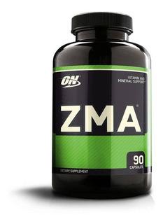 Zma 90 Cap Vitaminas Optimum Nutrition Zinc/magnesium/vit B6