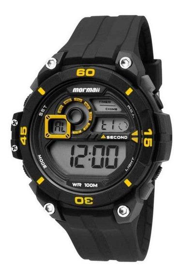 Relógio Masculino Digital Wave Amarelo - Mormaii Mo2019/8y