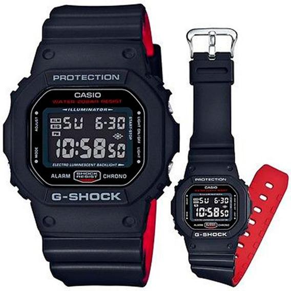 Relógio De Pulso Casio G-shock, Fundo Metálico Em Uretano