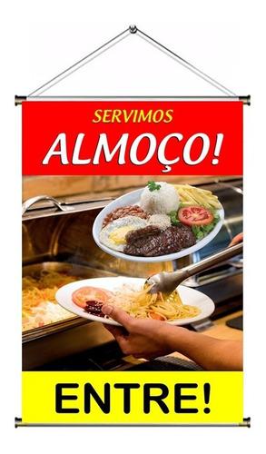 Banner Pronto Servimos Almoço