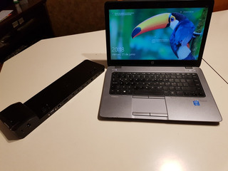 Notebook Hp Elitebook I5 840 G1 Ssd 256 Con Dockstation!!