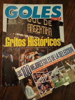 100 Mejores Goles - Vhs - Revista El Grafico Sel. Argentina