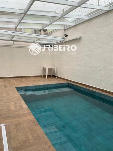 Imagem 1 de 13 de Casa De Alto Padrão 4 Dormitórios 3 Suítes 4 Vagas Espaço Gourmet Piscina Para Venda Em Horto Florestal São Paulo-sp - 180026