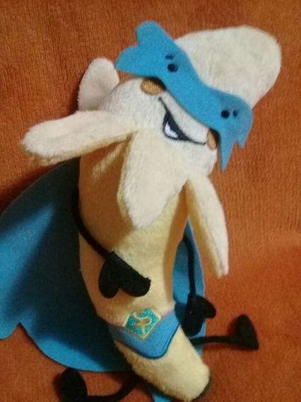 Mascote Banana Super Heroi Pelucia Jamie
