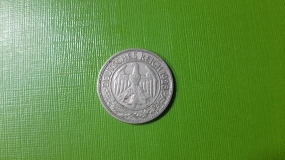 Alemania - 50 Reichspfennig - Año 1928