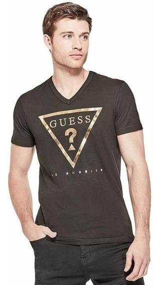 Playera Guess Taft Logo Tee