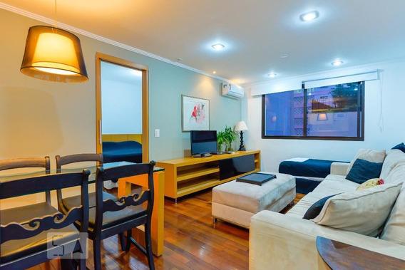 Apartamento No 3º Andar Mobiliado Com 1 Dormitório E 1 Garagem - Id: 892959934 - 259934