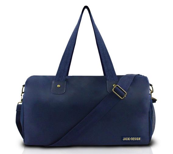 Bolsa Viagem Academia Esporte Jacki Design Ahl17206 Azul Az