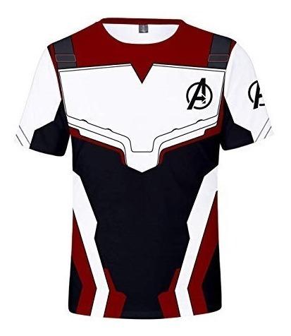 Avengers Endgame Camisa Talla Extra Unisex Hulk Thanos