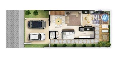 Imagem 1 de 10 de Casa À Venda, 139 M² Por R$ 750.000,00 - Jardim Clarice I - Votorantim/sp - Ca0193