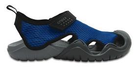 Sandalia Crocs Caballero Swiftwater Sandal Azul