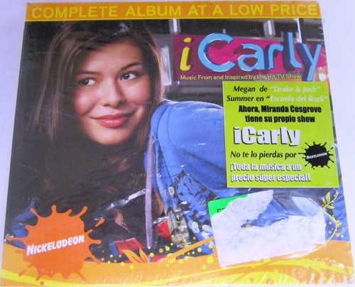 Miranda Cosgrove - Icarly: Tv Show Digipack Nuevo Cd