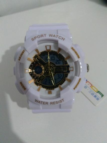 Relógio Samda Sport Whatch Multifunções A Prova D