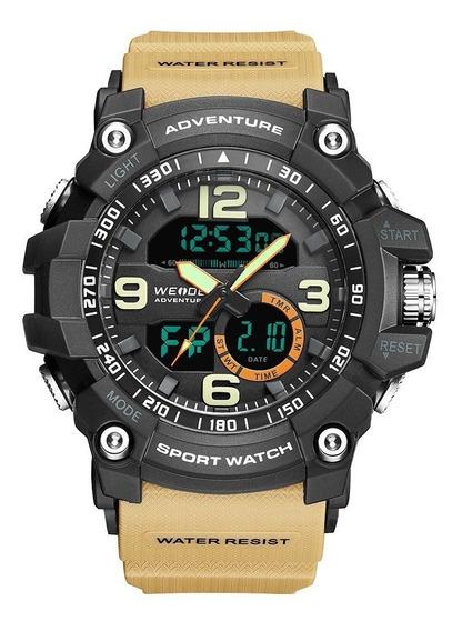 Relógio Masculino Esportivo A Prova D´água Original D141
