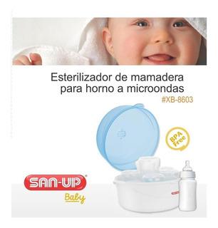 Esterilizador De Mamaderas Para Microondas San-up Cuotas