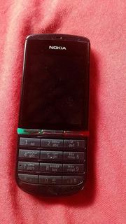 Celular Nokia Asha 300 Todos Acessórios E Caixa Bateria Long