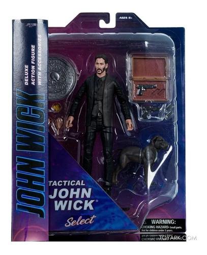 Imagen 1 de 1 de Figura Acción John Wick Tactical - Marvel Select - Diamond