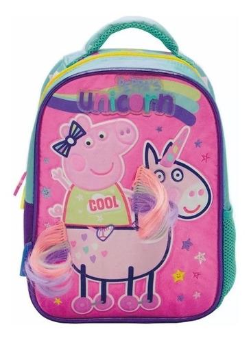 Mochila Espalda Jardin 12puLG Peppa Pig Original Pp039
