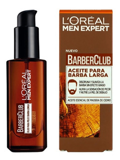 Aceite Para Barba Loreal Barber Club 30ml Men Expert