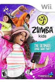 Jogo Dança Novo Lacrado Zumba Kids Para Nintendo Wii