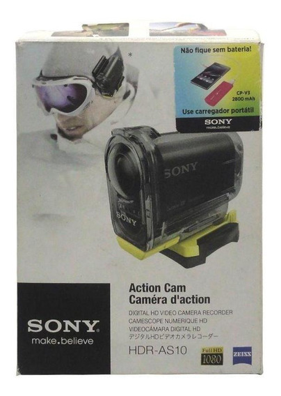Câmera Filmadora Action Cam Hdr-as10 Sony Pronta Entrega