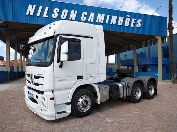 Mb Actros 2646, 6x4, 2016 Nilson Caminhões 7143