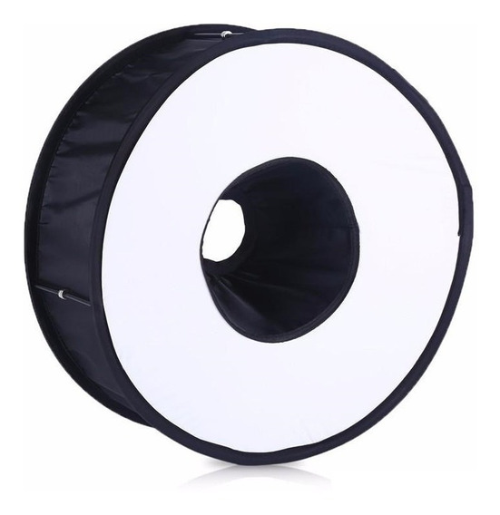 Difusor De Flash Speedlite Circular Softbox 46cm