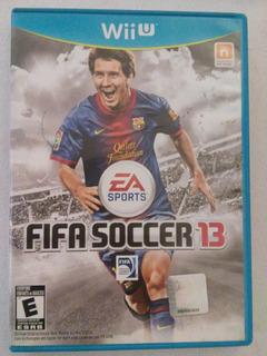 Fifa Soccer 13 Wii U Nintendo Football Futbol 2013 Trqs Wiiu
