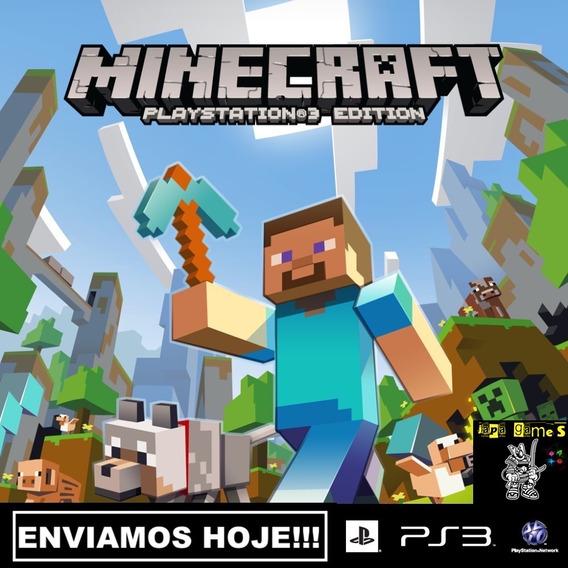 Minecraft Ps3 Jogos Psn Original